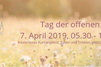 Tag der offenen Tür am 7. April 2019