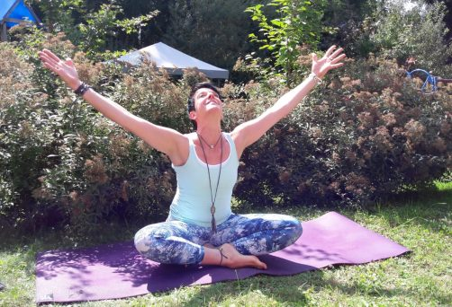 Outdooryoga in Riederich – Anja