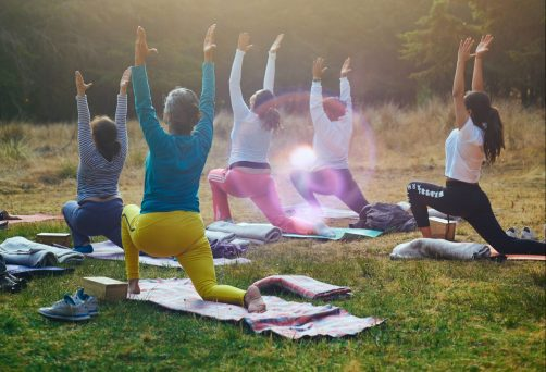 Outdooryoga in Riederich – Andi